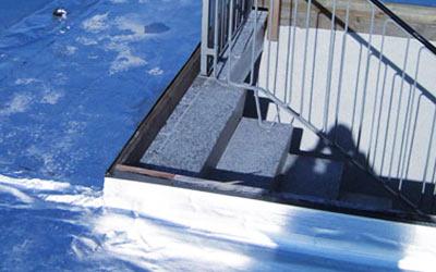 Wartung von Dächern durch frb